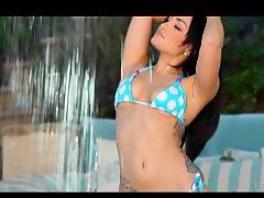 Poolside, Down, Gorgeous, Bikini, Bikinis