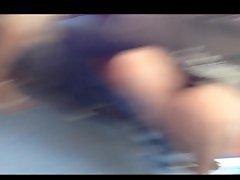 Voyeur upskirt, Voyeur train, Upskirt voyeur, Upskirt train, Legs, Leggings