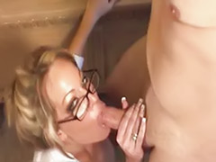 Secretarys, Secretary tits, Secretary masturbating, Fucking glasses, Glasses milf, Glasses blowjob