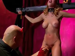 Submission, Submissive couple, Submissive, Slave playing, Slave masturbate, Hard fetish