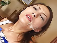 Sucking two, Japanese cheerleader