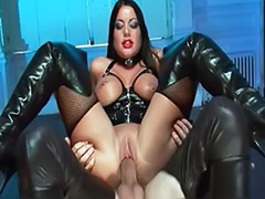 Latex anal, Latex cum, Dark hair, Busty latex, Anal latex, Busty stocking
