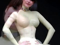 Modelling, Modeling, Latex c, Latex catsuit, Latex, Ballet