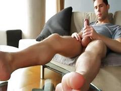 Solo big cock, Masturbation solo big cock, Big cock solo, Gay footjob