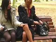 Sex in a park, Lesbian hardcore, Hardcore lesbian