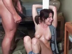 Tit spank, Spank tits, Cock spanking