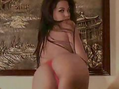 Tracy, Tracie, Sexy stripping, Sexy asian, Big boobs asian, Big asian boobs