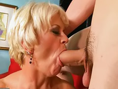 Granny blonde, Gilfs, Blonde granny, Cocksucking, Gilf