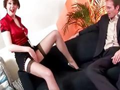 Lady stocking