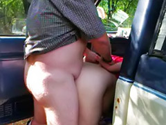 Truck, Couple fucked by