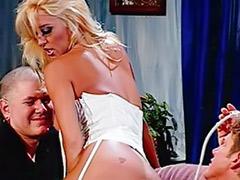 Wants dicks, Stockings want, She wants a b, Enemas, Enema anal, Threesome lingerie