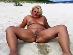 Milf beach, Beach amateur