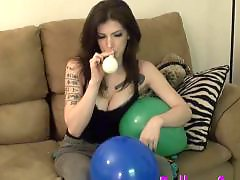 Teen blow, Tattooing, Tattooed, Tattoo, Emo, Balloons