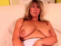 Mature, Big boobs, Wife, Old