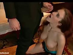 Redhead strip, Redhead busty, Busty redhead, Busty strip, Cock bondage, Cock spanking