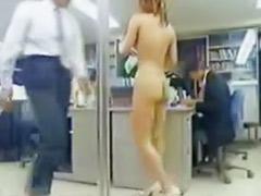 오피스 하이힐, 오피스걸, 알몸근무, 일본 글래머, 일본 하이힐, 일본여자알몸