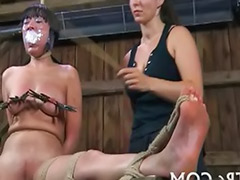 Mud, Lesbian bondage, In mud, Gagged ball, Gag slut, Ball gagged