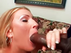 Tits sucked blonde, Interracial sluts
