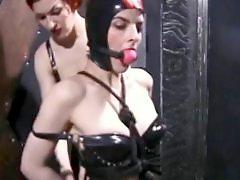 Tortures, Torture, Redhead lesbians, Redhead lesbian, Redhead bdsm, Mask