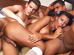 Tranny cumming, Tranny cum, Tranny black, Pigtails, Shot mouth, Shemales black