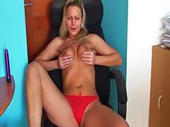 Sexy solo tease