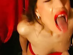 Filthy group, Dump, Group slut, German webcam, German group sex, German cum