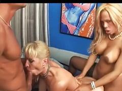Trannies threesome, Trannies handjob, Tranny tits, Tranny threesome, Tranny big tits, Tranny big