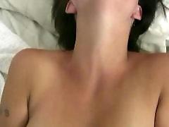 Playing fucked, Leah, Hitachi, Busty masturbation, Busty masturbates, Busty masturbate