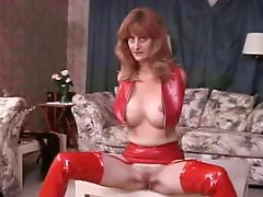Red tits, Red t, Red latex, Red mature, Mature brunettes, Mature brunette