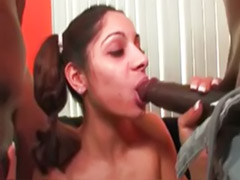 Cute girl fuck, Cute black