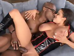 Titts, Thick interracial, Swallow blowjob, Swallow, Swallows cock, Swallows