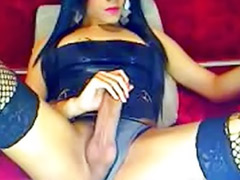 Tranny stockings, Tranny jerking off, Tranny jerking, Tranny black, Tranny big cock, Tranny big