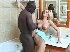 흑인목욕탕, 흑ㅇ인, 욕실, 금발ㄹ, 게ㅇ