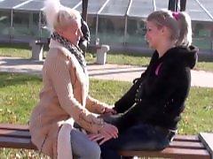 Young and old lesbians, Young and old lesbian, Turns, Lesbian old and young, Lesbian first, Lesbian date