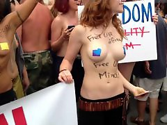 Venice, Topless beach, Walking, Public tits, Public beach, Nipples