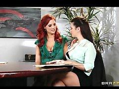 Workers, Worker, Redhead lesbians, Redhead lesbian, Redhead boobs, Redhead big boobs