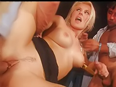 Bar sex, Sex bar, Sandra russo, In bar, Beautiful double vaginal, Bar