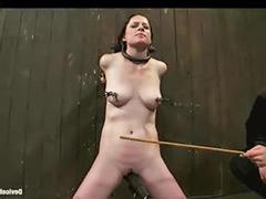 Caned, Vibrator bondage, Caneing, Caning, Cane