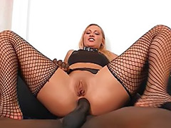 Stockings interracial anal blonde, My first sex, Monster interracial, Monster cum shot, Monster cock sex, Monster cock anal