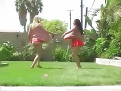 Walking, Lesbian tits hot, Fetish, blonde, lesbian