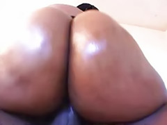 Ebony masturbation big ass