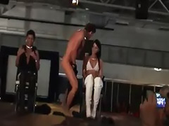 Satisfying, Male strippers, Male stripper