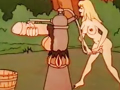 Sex in the forest, German vintage, Cartoon sex, Vintage german, Vintage anal, Forest sex