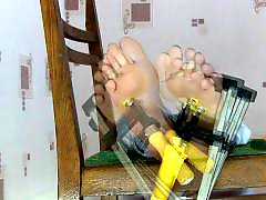 Tortures, Torture, Clamp torture, Foot tortured, Clamp