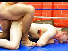 Two gays, Two couples, Two couple, Wrestling anal, Wrestling, Wrestle sex