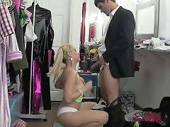 Ballbustting, Ballbust, Ashley, Boss, Ashley fires
