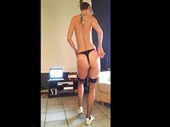 Strip-tease, Strip tease, Stockings tease, Stockings strip, Stocking tease, Stocking strip