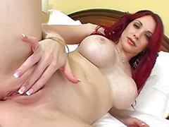Redhead milf big tits, Deville, Devil