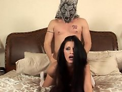 Red t, Hardcore riding, Hoods, Busty riding, Busty fuck, Busty blowjob