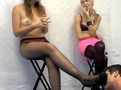 Hosed, Foot face, Ballbustting, Ballbust, Alice, Cbt